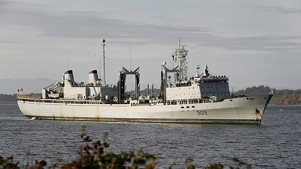 HMCS Protecteur is one of the aging military supply ships that needs will be replaced as part of the Harper government's shipbuilding strategy. Parliamentary Budget Officer Kevin Page recommended Thursday that the government budget $4.13 billion for purchasing the two new ships, $1.5 billion more than the program's original budget.