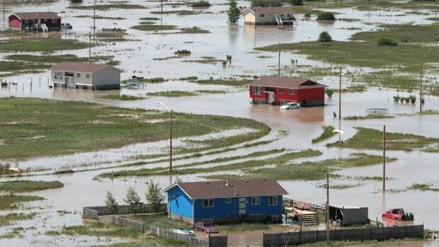 Siksika First Nation was hit hard by flooding last month, which caused major damage throughout southern Alberta.