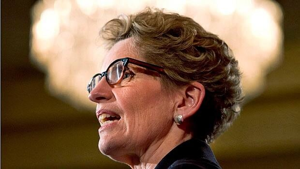 Kathleen Wynne says she feels a responsibility to young gay people.
