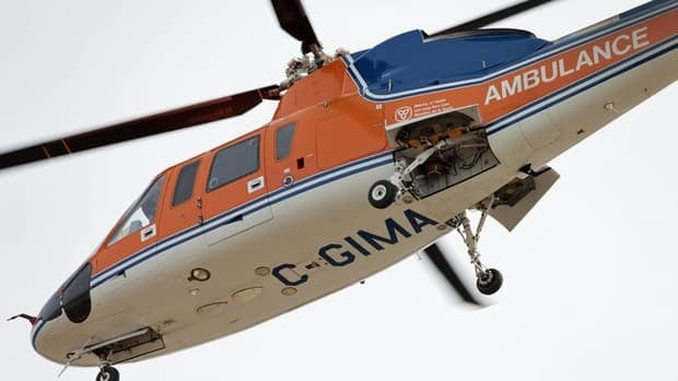 Ornge's Sikorsky helicopter