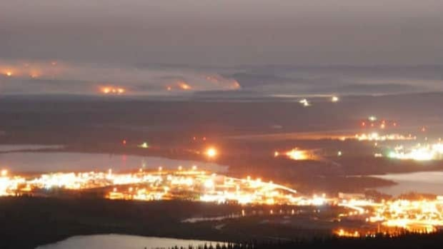 Forest fires have been burning outside the mining town of Wabush since June 23.