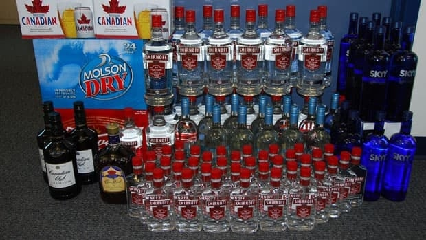 RCMP in Iqaluit seized 92 bottles of liquor and 72 cans of beer in raids in the city in April. Nunavut's liquor act task force is recommending changes to the act aimed at reducing bootlegging.