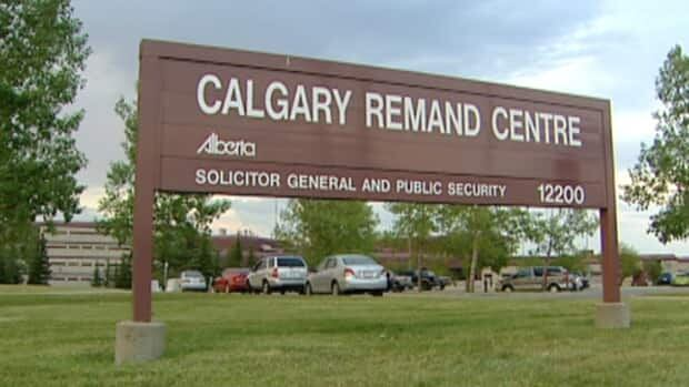 Police responded to reports of an altercation at the Calgary Remand Centre Monday night.