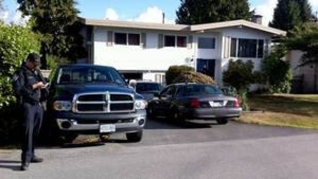 A man was arrested at a home in Delta, B.C., on Monday following an Amber Alert.