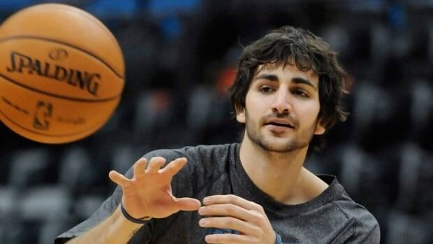 Minnesota Timberwolves' Ricky Rubio, of Spain, works out before an NBA basketball game against the Milwaukee Bucks, Friday, Nov. 30, 2012, in Minneapolis. Rubio is expected to make his season debut Saturday night against the Dallas Mavericks.