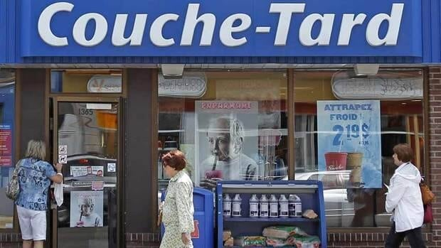 Couche-Tard's acquisition of Statoil Fuel & Retail helped pushed the Quebec convenience store chain's profits up in the first quarter, allowing it to increase its dividend by 1.25 cents to 8.75 cents per share.
