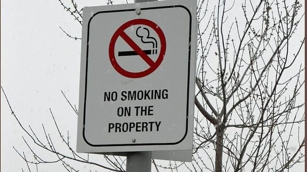 Thunder Bay hospital officials say enforcement of its smoking ban will begin at the end of September — a move that means people could be fined for smoking on the property.