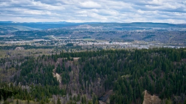 Quesnel (BC) Canada  City new picture : 750 homes sliding away in Quesnel, B.C. British Columbia CBC News