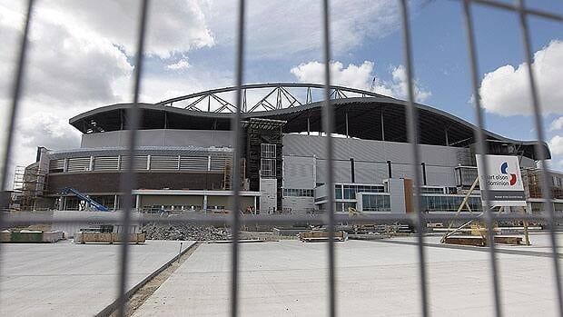 A massive church service at Investors Group Field Sunday will put the Winnipeg Blue Bombers' parking plans to the test.