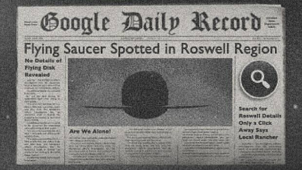 Google's Doodle for July 8th marks the 66th anniversary of the infamous 1947 Roswell Incident, which some believe was an alien crash-landing on Earth.