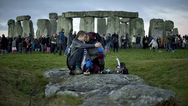 British researchers have proposed a new theory for the origins of Stonehenge: It may have started as a giant burial ground for elite families around 3,000 B.C.