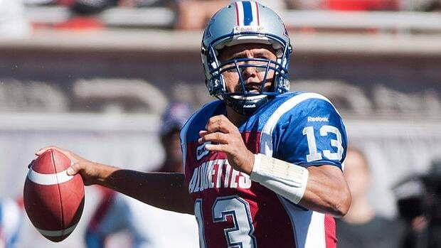 Quarterback Anthony Calvillo helped the Alouettes rebounded from their worst loss of the season to post a victory over the Saskatchewan Roughriders Sunday in Montreal.