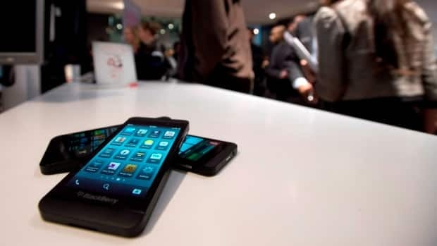 The Blackberry Z10 went on sale in Canada Feb. 5.