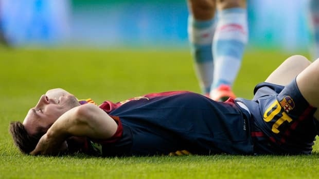Lionel Messi was forced into a playmaking role with Xavi Hernandez injured and Andres Iniesta only playing the final 25 minutes.