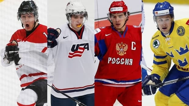 Canada's Mark Schiefele, American John Gaudreau, Russia's Nail Yakupov, and Sweden's Filip Forsberg will try to lift their teams into the final at the world junior hockey championship during semifinal action on Thursday.