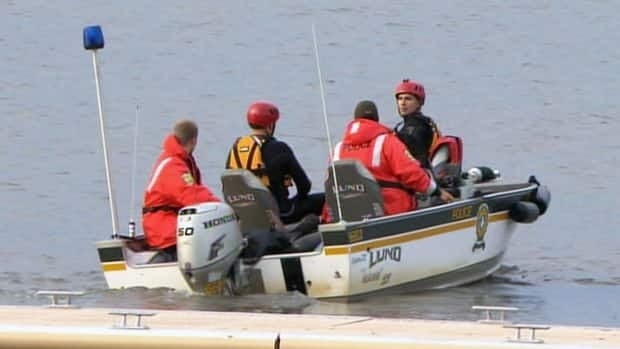 Provincial police divers have been brought in to help with the search for the 54-year-old man.