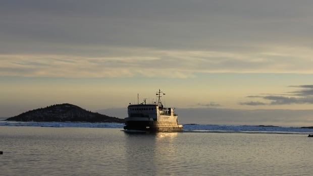 Thruster problems have knocked the Beaumont Hamel (pictured last month) out of service on the Fogo Island ferry run.