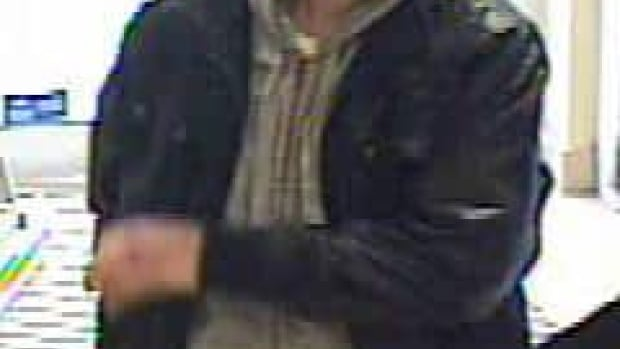 The suspect has been linked a total of four bank robberies in Hamilton.