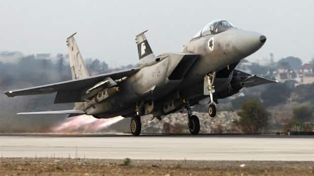 Syria says the Israeli airstrike destroyed a military research facility, killing two and wounding five others.