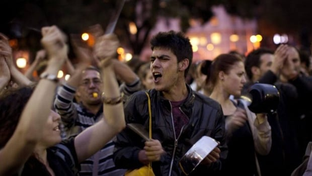 Spanish university students and youth groups rallied against the country's youth unemployment rate of 40 per cent in May 2011. The UN's labour agency warned Wednesday that the global youth employment rate will continue to rise through 2013.