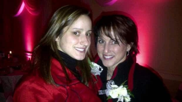 Guelph police say speed and road conditions were primarily to blame for the death of Const. Jennifer Kovach, shown here with her mother, Guelph Ward 4 Councillor Gloria Kovach.