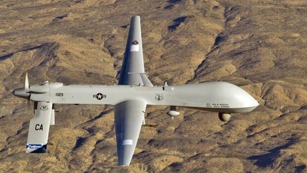 According to sources on the ground, a drone could be seen circling the al-Bayda area for several days before a strike hit 3 cars, killing 13 suspected al-Qaeda militants and 3 civilians.