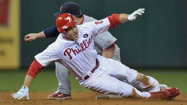 In Chase Utley's absence the Philadelphia Phillies will turn to rookie Freddy Galvis.