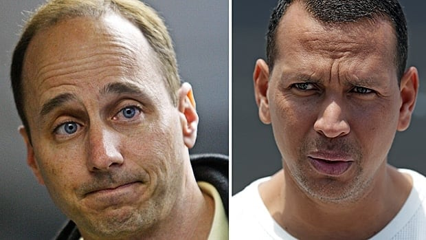 New York general manager Brian Cashman, left, previously expressed disappointment that Alex Rodriguez's name has again been linked to reports of performance enhancing drug use.
