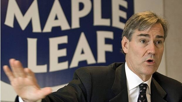 Maple Leaf Foods CEO Michael McCain, pictured in a 2008 file photo, announced the closure on Friday.