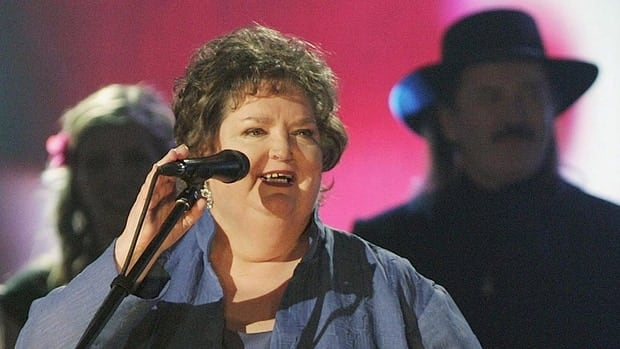 Rita MacNeil, the singer and former CBC-TV star from Big Pond, N.S., died on April 16. Here, MacNeil speaks after receiving a lifetime achievement award at the East Coast Music Awards in 2005 in Sydney, N.S.