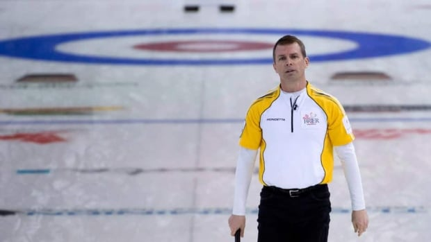 Jeff Stoughton, shown here competing at the Brier last month, has won three in a row heading into the playoffs at the Players' Championship in Toronto.