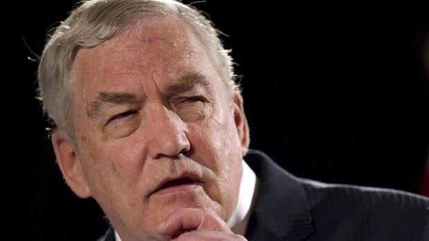 Conrad Black speaks in Toronto on June 22, 2012. Black says it would heap insult upon injury to strip him of membership in the Order of Canada over U.S. criminal convictions when no Canadian court would have found him guilty of the same charges.