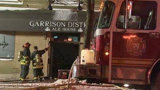 The Garrison District Ale House will be closed for about six months for repairs after a fire on Jan. 4 caused extensive damage to the popular downtown restaurant.