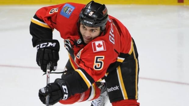 Mark Giordano of the Flames is joining HNIC's Scott Oake and Kevin Weekes on After Hours.