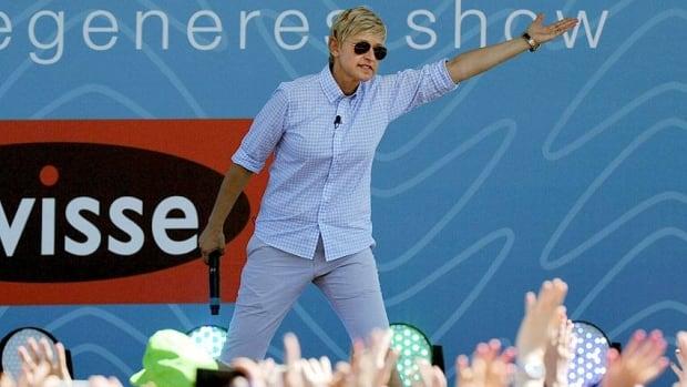 U.S. talk show host Ellen DeGeneres, seen greeting fans in Australia on March 26, will host the 2014 Oscars.