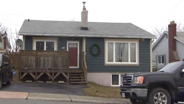 The Royal Newfoundland Constabulary said four men invaded this house on Colville Street in St. John's around 2 a.m. on Wednesday.