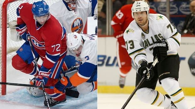 The Montreal Canadiens sent Erik Cole, left, to Dallas on Tuesday for winger Michael Ryder.