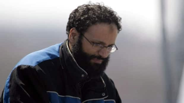 Chiheb Esseghaier arrives at Buttonville Airport just north of Toronto on Tuesday, April 23, 2013.
