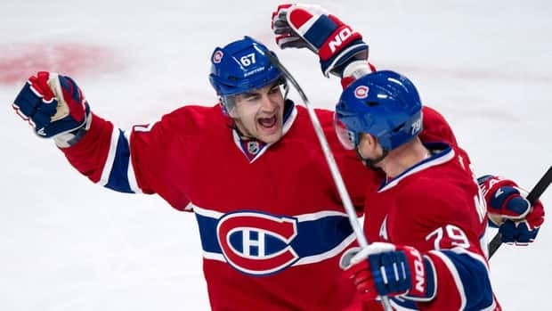 Montreal Canadiens forward Max Pacioretty, left, has four assists and a team-high 10 shots on goal in three games this season.