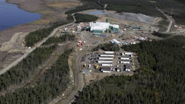 The Duck Pond Mine is in central Newfoundland, near Millertown.