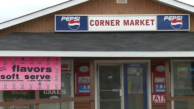 This convenience store in Corner Brook was robbed on Monday night.