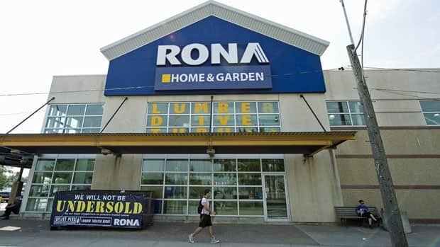 Rona's adjusted profit was $43.6 million, or 36 cents, a penny per share below analyst estimates.