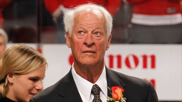 Former NHL star Gordie Howe won four Stanley Cups with the Detroit Red Wings, six Hart Trophies as the NHL's most valuable player and six Art Ross Trophies as the league's leading scorer.