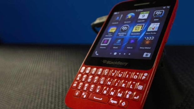 The Q5 runs on the company's latest operating system and follows the debut of the Z10 model, which Waterloo, Ont.-based BlackBerry unveiled with much fanfare earlier this year.