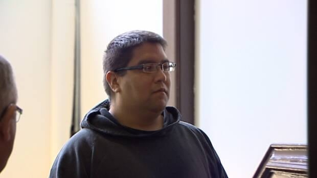 Andre Denny appeared in court Monday.