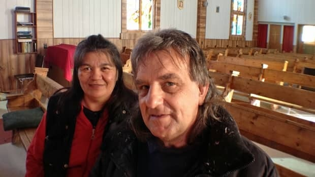 Jackie Hookimaw-Witt and her husband Norbert Witt worked with Northern Art Glass in Ottawa on a week-long course as part of a project to replace six large stained glass windows for the Catholic church in Attawapiskat.