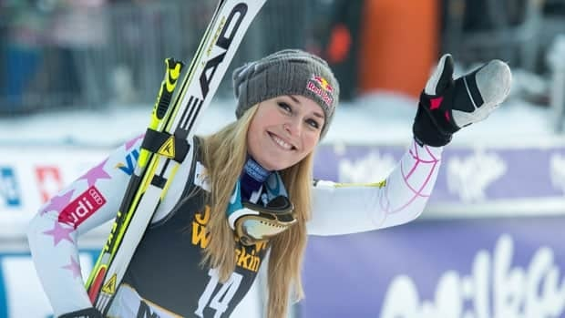 Lindsey Vonn, seen just a few weeks before her season-ending crash in February, won gold and bronze at the Vancouver Olympics.