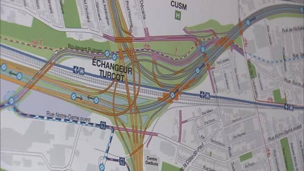 Transport Quebec promised more green space in the new Turcot Interchange plan.