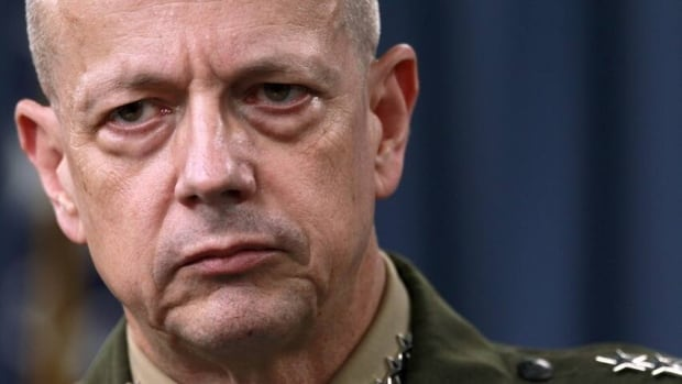 The Pentagon has exonerated Gen. John Allen, who was ensnared in an FBI investigation that revealed retired Gen. David Petraeus's affair with his biographer Paula Broadwell.