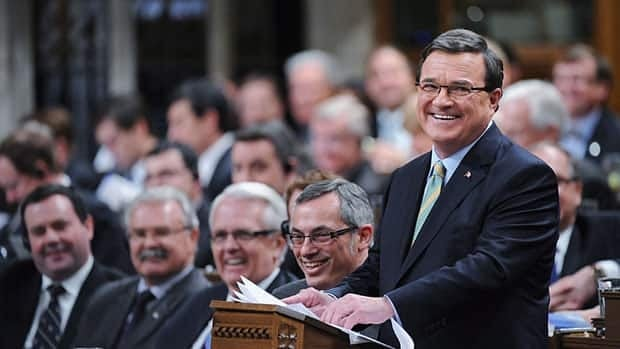 "Finance Minister Jim Flaherty had harsh words for the Ontario Liberals on Friday, calling it a ""sad government"" that has ""badly mismanaged"" the province's finances."